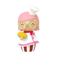Cookie PMomiji are handpainted resin message dolls. Turn them upside down...inside every one theres a tiny folded card for your own secret message. /PPSpread the love./PPAll dolls�are approx 8cm (3in) tall./P