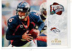 Sports Cards Football - 2009 UD Football Heroes Jay Cutler