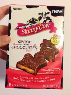Skinny Cow chocolates received complimentary from Influenster for testing purposes