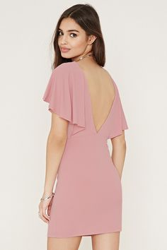 Flounce Bodycon Dress $29.90