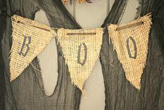 burlap decoration for holloween | Burlap Decorating Ideas
