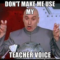 teacher voice #teacherlife