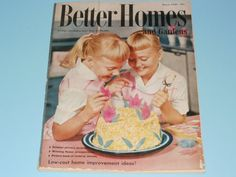 Vintage Better Homes and Gardens Magazine March Ads Scrapbooking Art-Collectible