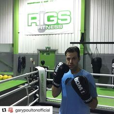 Great to have Gary training with us for his first fight...  Repost @garypoultonofficial with @repostapp  Time to step up the training for Ultra White Collar Boxing at Edgbaston Stadium on 26th November - Last nights training was brutal  #UWCB #Edgbaston #ThePostman