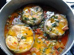 Moqueca de Peixe - Veja mais em: http://www.cybercook.com.br/moqueca-de-peixe.html?codigo=5122
