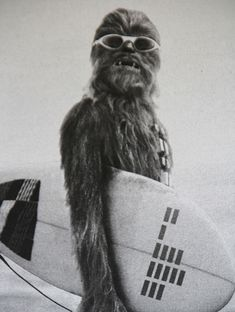 What- you don't think he has interests? Chewbacca doesn't have to spend all his time with Han.