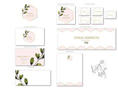 Premade branding package for bloggers, photographers, florists, event planners, boutiques, designers, stylists, interior designers and other creative businesses. This is a perfect way to get a professional branding package that fits your business and budget. ***INCLUDES*** LOGO,