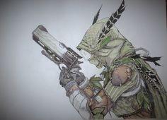 "Hunter in ""Bog Wild"" gear."
