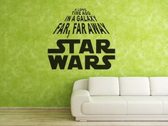 Star wars in green.
