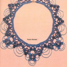 Tutorial : Cascade Necklace ( pattern)