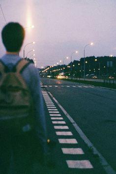 long trip alone.