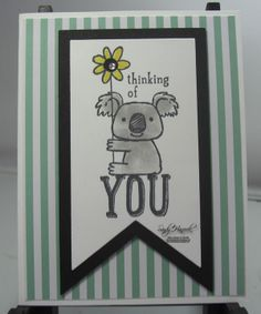 Stampin' Up! Tin of Cards Project Kit, Kind Koala, Banner Framelits, Hand made cards by Stampin' Up!