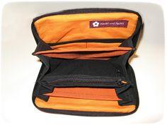 NuF – Nadel und Faden: Eine nachhaltige Geldbörse Jansport Backpack, Backpacks, Bags, Fashion, Yarn And Needle, January, Sustainability, Handbags, Moda