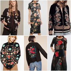 Can we say we're obsessed with this trend? We're obsessed with this trend. And we're not the only ones!Needlework flowers were a consistent theme down the runway at the end of 2016, and a month into 2017, the trend shows no signs of slowing down. In this article, we show you some key pieces - from subtle to statement - and how you can rock this look with staple pieces from your existing wardrobe.  Firstly, can we just... Alexander McQueen. (Image: Alexander McQueen Spring 2017 ...
