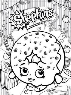 Print shopkins coloring pages for free and color online our shopkins coloring ! For kids & adults you can print shopkins or color online. Donut Coloring Page, Shopkin Coloring Pages, Coloring Pages To Print, Free Printable Coloring Pages, Coloring For Kids, Coloring Pages For Kids, Coloring Books, Colouring Sheets, Printable Art