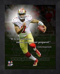 colon kaepernick quotes | Colin Kaepernick, San Francisco 49ers ProQuote Framed Memorabilia at ...