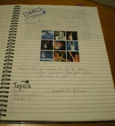Writers' Notebooks - MargD. Great idea for teacher to make their own as a real sample! SUMMER PROJECT for me :o)