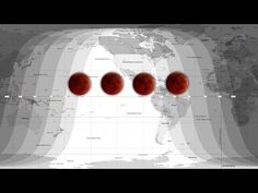 A Tetrad of Lunar Eclipses: A total lunar eclipse on April 15, 2014 marks the beginning of a remarkable series of eclipses all visible from North America.