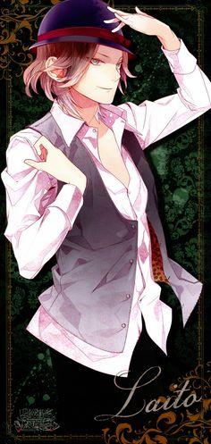 Tags: Scan, Stick Poster, Official Art, Satoi, Diabolik Lovers ~Haunted dark bridal~, Sakamaki Laito