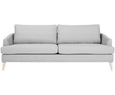 Raus aus dem Kostüm und rein in den Pyjama! Mit diesem Sofa dürfen Sie so richtig entspannen! Modell TENDER begeistert aber auch zum Kaffeeklatsch oder zur Filmparty mit Freunden. Das Design mit der klaren, schnörkellosen Linie wirkt zeitlos-elegant. Wer sich ein wenig mehr wünscht, peppt TENDER mit bunten Dekokissen auf. Der Überzug ist aus weicher Baumwolle, die Beine aus Eichenholz fabriziert.