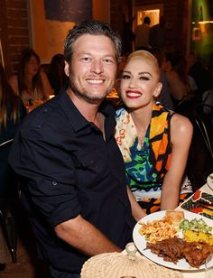 Blake Shelton and Gwen Stefani's Chemistry Is Undeniable at Star-Studded Hamptons Charity Event—See the Pics