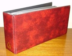Red Collecta Cover Album. - http://stamps.goshoppins.com/stamp-publications-supplies/red-collecta-cover-album/