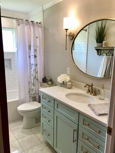Sea Foam Green Bathroom - Sea Foam Green Bathroom, Bathroom Remodel Sea Foam Green Vanity and Gold Fixtures Seafoam Bathroom, Green Bathroom Decor, Bathroom Sink Decor, Bathroom Trends, Bathroom Fixtures, Bathroom Renovations, Bathroom Organization, Bathroom Ideas, White Bathroom