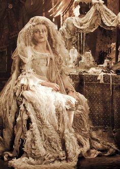 'Great Expectations' (2011).  Helena Bonham Carter as Miss Havisham.