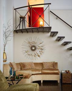 Carole Radziwill Residence - that staircase!!