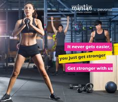 It never gets easier, you just get stronger. Get stronger with us, book your trial sessions with Mantan Now!