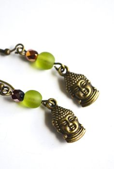 Buddha Yoga Earrings