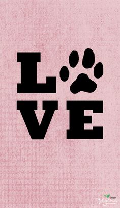 I love my dog ★ iPhone wallpaper