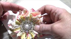 New Shabby Flower Petal Burst Tutorial