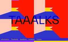 Taaalks, on siteInspire: a showcase of the best web design inspiration. Garbage Plate, Best Web Design, Brutalist, Web Design Inspiration, User Interface, Website, Dreams, Medium, Medium Long Hairstyles