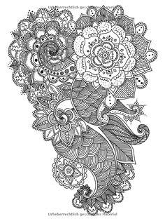 Vogelschwarm im Blütenmeer Ausmalbuch für Erwachsene : 85 zauberhafte Malvorlagen - von der Natur inspiriert: Amazon.de: Bücher