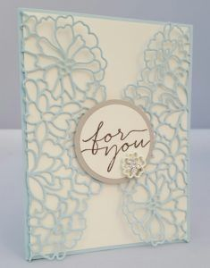 Stampin Up So in Love stamp set and So Detailed Thinlits