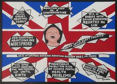 """....like it was before 1967 before 8 MILLION babies were killed in the womb. HAS THE UK ABORTED IT'S CONSCIENCE since 1967?? Time to wake up, UK!!!! Acrylics on a framed canvas, unframed 20"""" ..."""