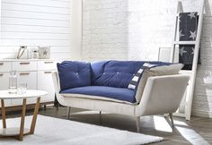 SUVI 2h sohva, Lauritzon Alaska-kangas.