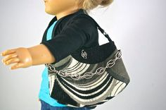 American Girl 18 inch doll PURSE satchel BAG by loreliecreations, $7.00