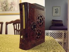 OMG - want want want! XBox 360 case mod. I wonder if Justin would let me do this, I know he would love it too!
