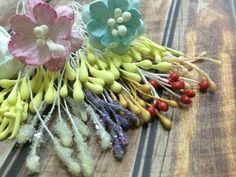 Как сделать тычинки для цветов своими руками. Мастер класс цветы из бумаги. Скрапбукинг, ч.10 - YouTube