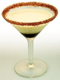 York Peppermint Martini    Ingredients:    2 oz Van Gogh Mojito Mint Vodka  1 oz Kahlua  2 oz Godiva White Chocolate    Shake vodka and Godiva White Chocolate liqueur in a cocktail shaker with ice until cold. Strain the mixture into a chilled martini glass. Sink Kahlua into the bottom of the glass slowly.