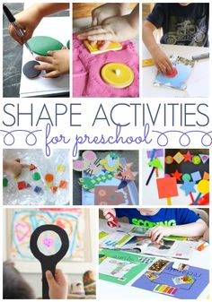 Lesson Plans for Kindergarten New Shapes Activities for Preschoolers Pre K Pages Preschool Lessons, Kindergarten Activities, Preschool Activities, Shape Activities, Preschool Shapes, Preschool Prep, Kids Crafts, Preschool Crafts, Science Crafts