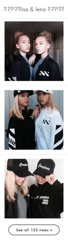 """☆.。.†:*lisa & lena ☆.。.†:*"" by daydream-clipper ❤ liked on Polyvore featuring daydreamclipping"