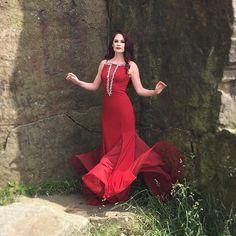 💃🏼 #Eden #Classical #ClassicalCrossover #Music #Soprano #Photoshoot #Redhead #RedDress
