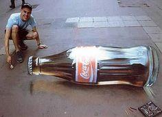 U.K. artist Julian Beever and German artist Edgar Mueller:  3D Sidewalk Art That Will Blow Your Mind (PHOTOS)
