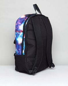 69628a9ed244 Hype Backpack With Galaxy Print. Galaxy PrintAsosBackpacksBackpack  BagsBackpackBackpackingBackpacker