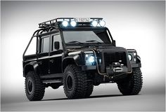 """LAND ROVER DEFENDER SPECTRE Land Rover´s Special Vehicle Operations department were recently commissioned by the team of the latest James Bond adventure - Spectre (hits cinemas on November 5), to modify the iconic Land Rover Defender and feature it in the movie. The end result is this military beast named """"Big Foot"""", ..."""