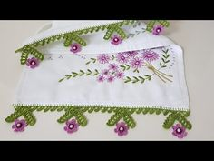 Kitchen Towels, Kitchen Decor, Elsa, Diy And Crafts, Coin Purse, Design, Creative Ideas, Youtube, Crochet Edgings