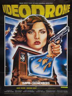 French poster for VIDEODROME by Laurent Melki